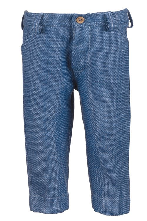 COTTON BLUE TROUSERS