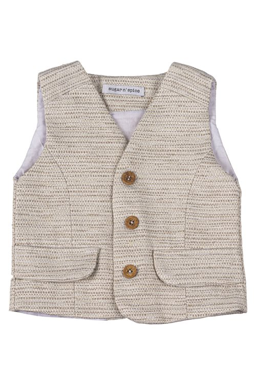 WAISTCOAST COTTON BEIGE