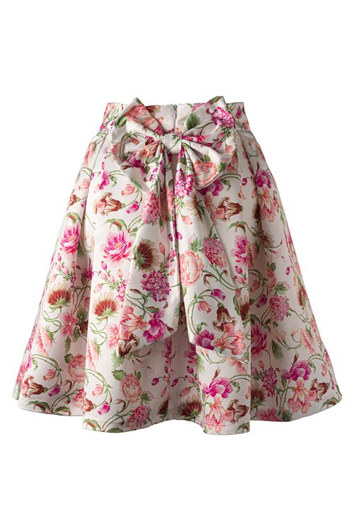 FLORAL COLORFUL SKIRT
