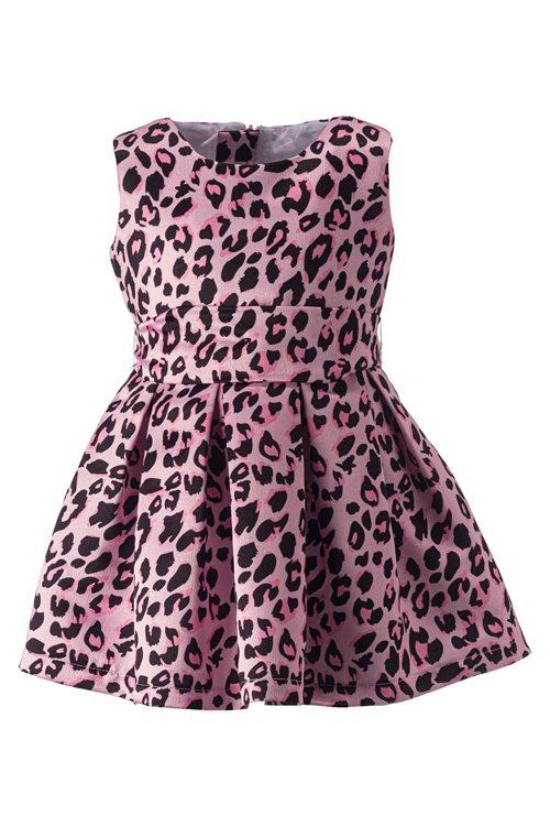 LEOPARD PINK  DRESS