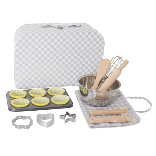 BAKERY SET WITH CASE JABADABADO