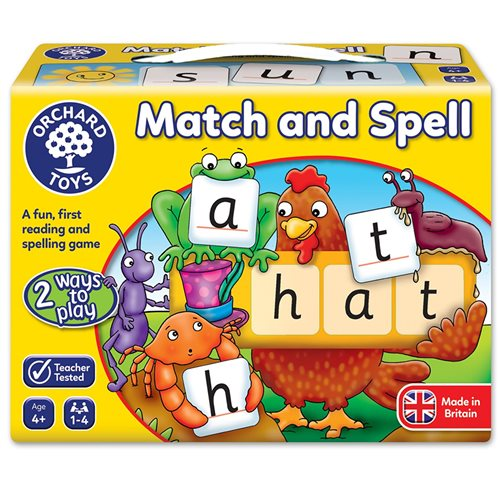 MATCH AND SPELL GAME ORCHARD TOYS