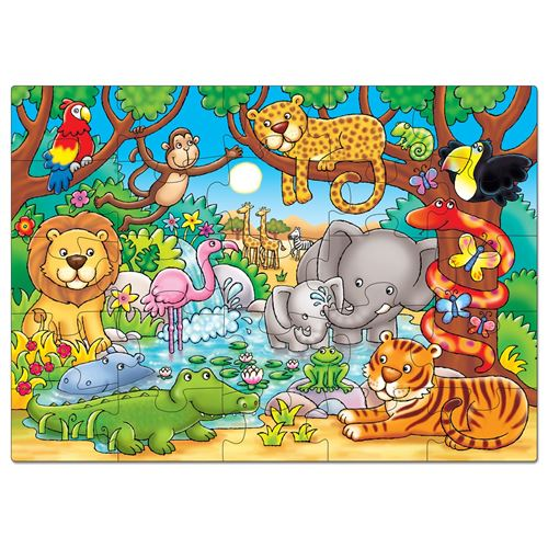 "PUZZLE ""JUNGLE"" ORCHARD TOYS"