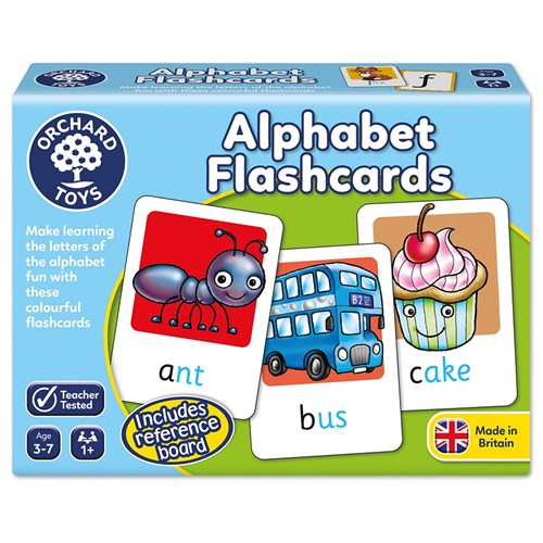 ALPHABET FLASHCARDS ORCHARD TOYS
