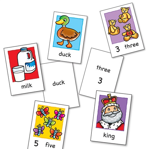 FLASHCARDS ORCHARD TOYS