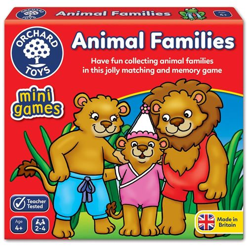 ANIMAL FAMILIES ORCHARD TOYS