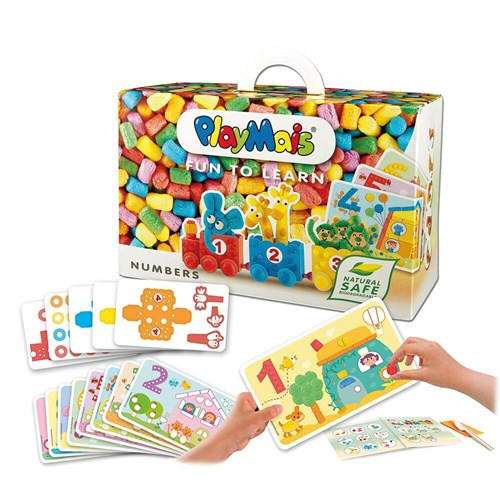 CARDS WITH NUMBERS 14PCS PlayMais