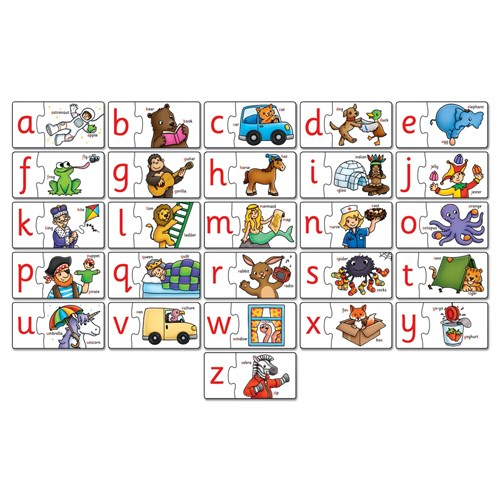 ALPHABET PUZZLE ORCHARD TOYS