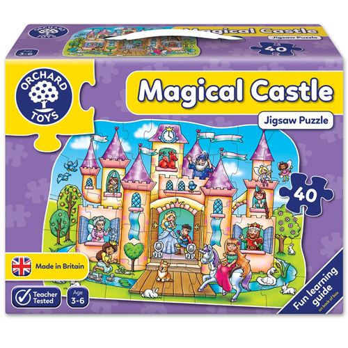 MAGIC CASTLE PUZZLE ORCHARD TOYS