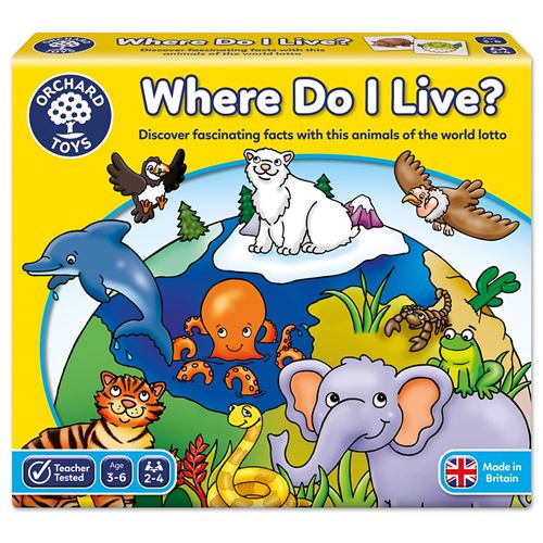 ANIMALS GAME ORCHARD TOYS
