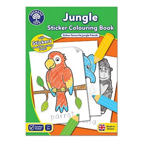 PAINTING BOOK JUNGLE ORCHARD TOYS