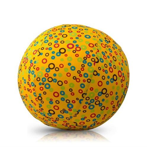 BALLOON BALL WITH YELLOW CIRCLES BUBABLOON