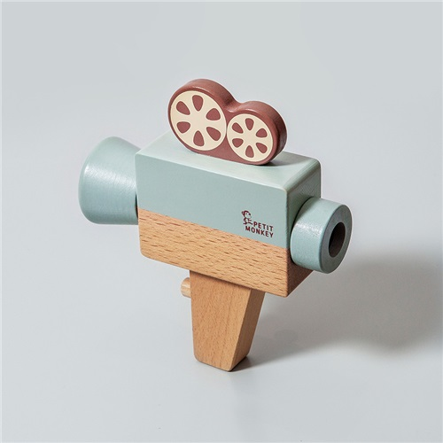 "WOODEN ""VIDEO CAMERA"" PETIT MONKEY"