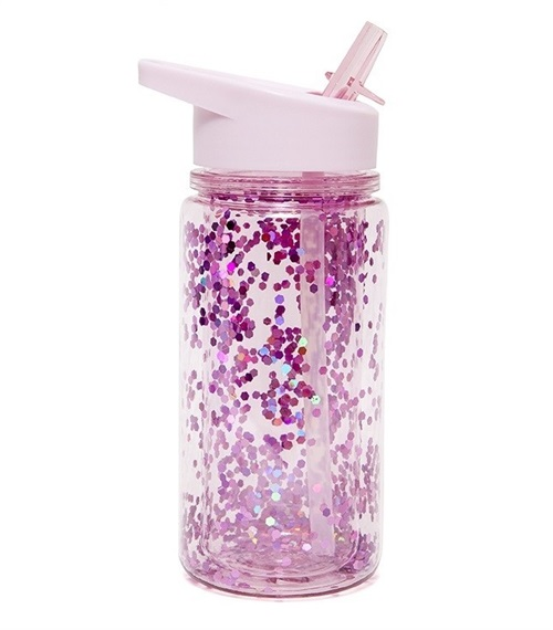 PINK GLITTER BOTTLE PETIT MONKEY