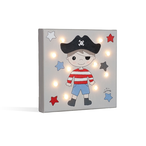 """PAINT WITH LED """"PIRATE"""" HEARTMADE"""