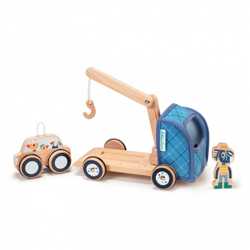 WOODEN CAR IGNACE LILLIPUTIENS