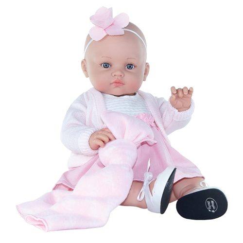 DOLL ALICIA PINK BOW
