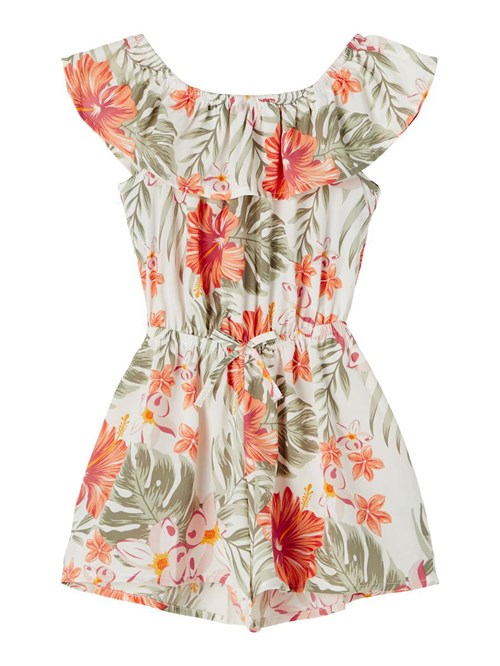 PLAYSUIT FLORAL NAME IT