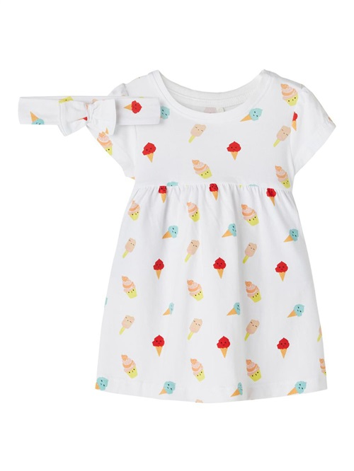 DRESS WITH BOW ICE CREAM NAME IT