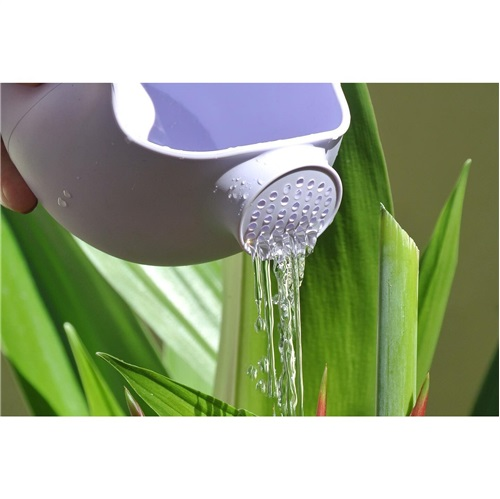 WATERING CAN LIGHT PURPLE SCRUNCH