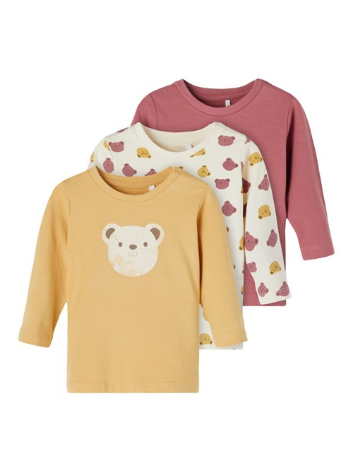 3-PACK LONG SLEEVED T-SHIRT NAME IT