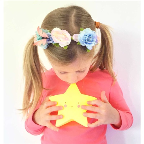 NIGHT LIGHT STAR YELLOW A LITTLE LOVELY COMPANY