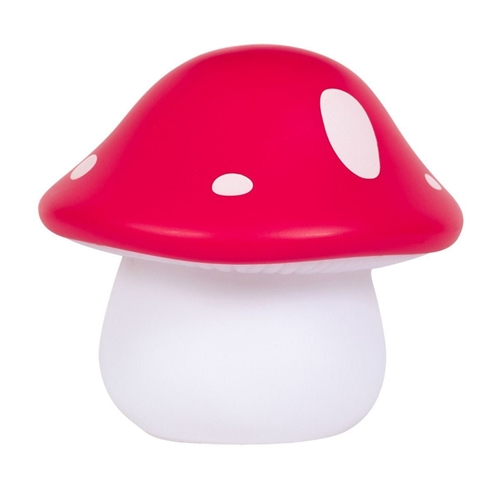 NIGHT LIGHT MUSHROOM RED A LITTLE LOVELY COMPANY