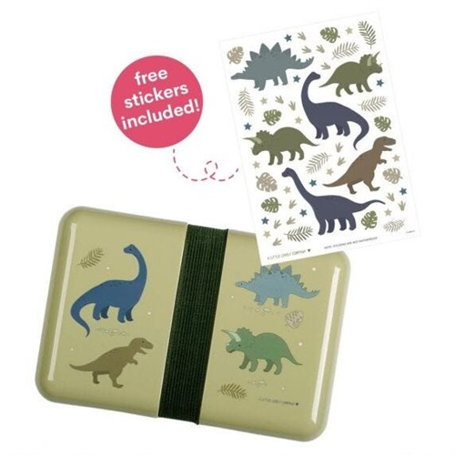 LUNCHBOX  A LITTLE LOVELY COMPANY DINOSAURS