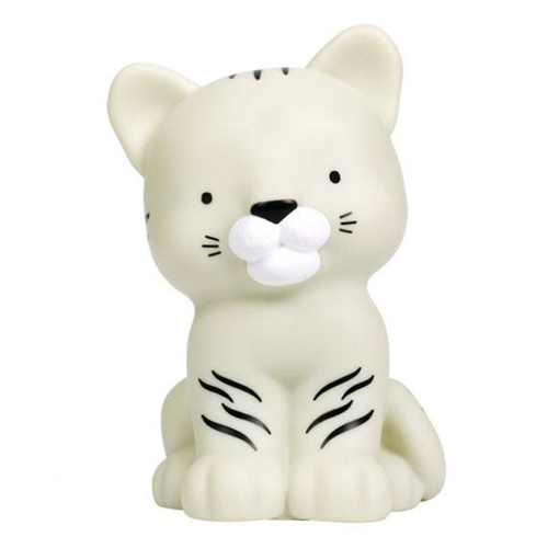 NIGHT LIGHT TIGER WHITE A LITTLE LOVELY COMPANY