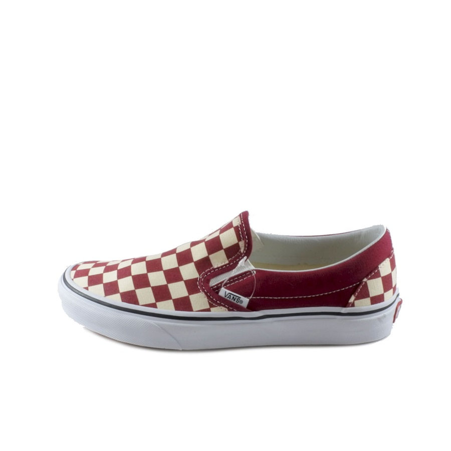 b736bcaa1336 CLASSIC SLIP-ON (CHECKERBOARD) RUMBA RED