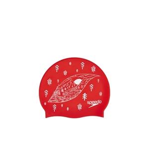 Speedo Slogan Print Swim Cap