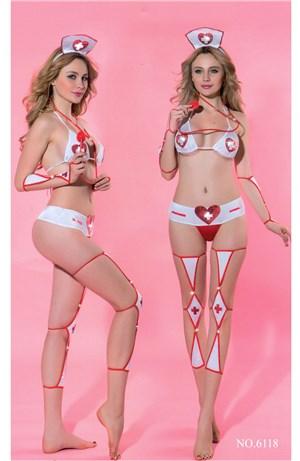 Σέξι στολή νοσοκόμας 8 τμχ