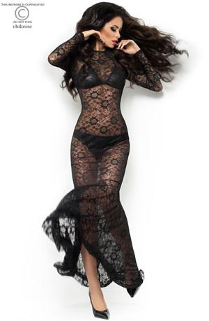 Hot maxi dress