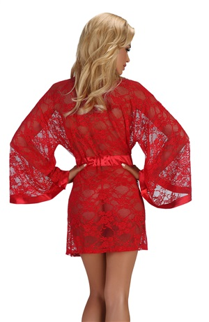 Hot Red Robe Paulette