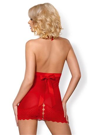 Red chemise set