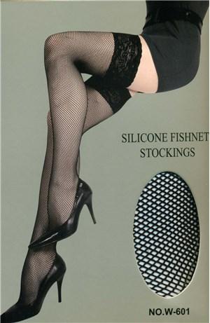 Κάλτσες δίχτυ με σιλικόνη