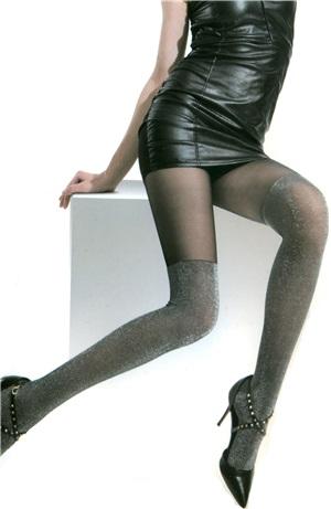 Καλσόν με σχέδιο κάλτσας