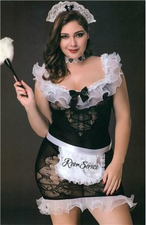Σέξι Καμαριέρα Plus Size