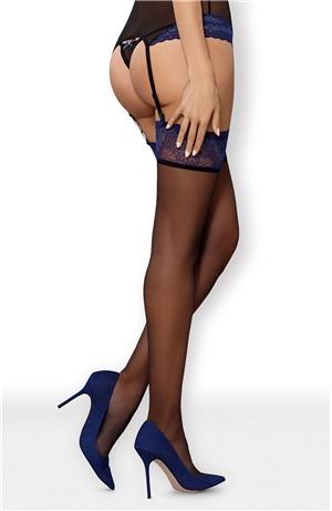 Σέξι δίχρωμες κάλτσες