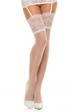 Ρομαντικές Λευκές κάλτσες