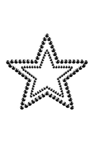 Αυτοκόλλητα nipple star black
