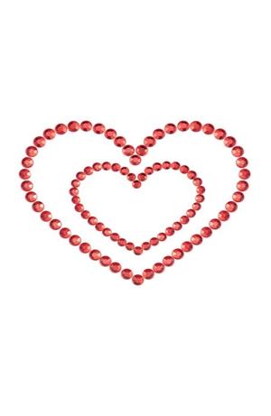 ΑΥΤΟΚΟΛΛΗΤΑ NIPPLE HEART RED