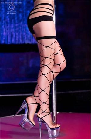 Κάλτσες μεγάλο δίχτυ