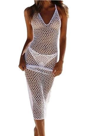Fishnet Maxi Dress