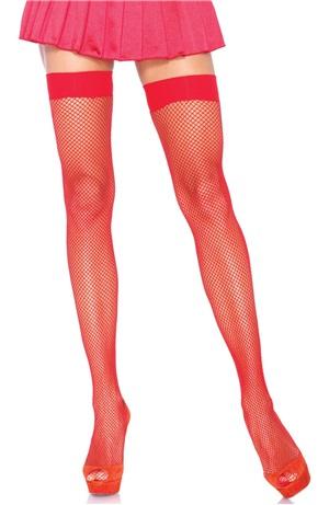 Κόκκινες Διχτυωτές Κάλτσες