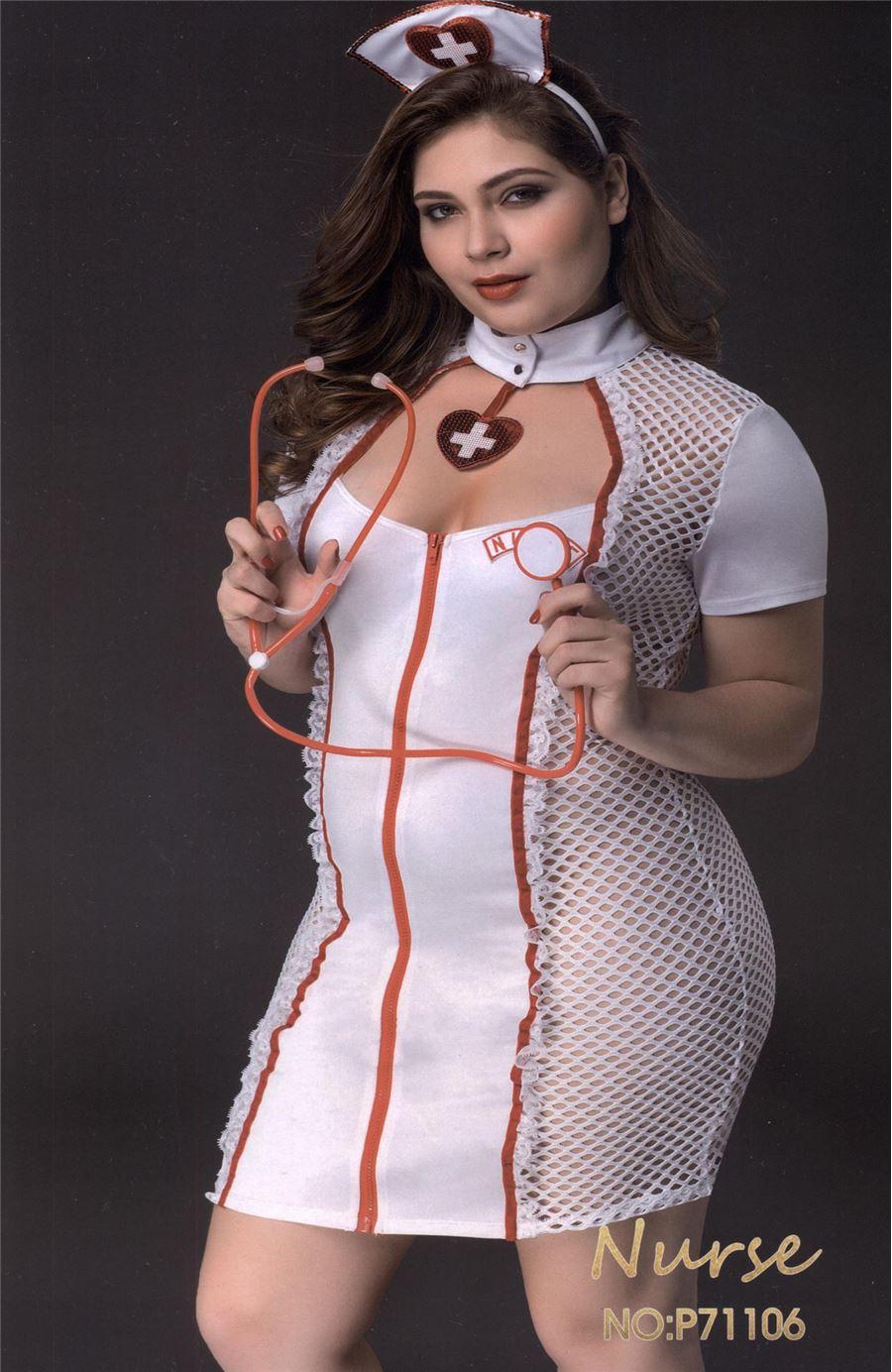 Sexy Nurse Set Plus size
