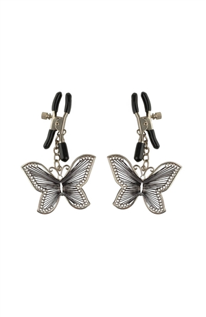 BUTTERFLY NIPPLE CLAMPS FETISH FANTASY SERIES
