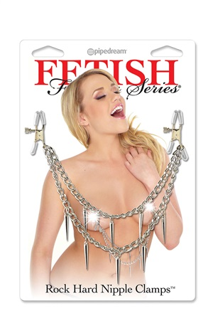 ROCK HARD NIPPLE CLAMPS FETISH FANTASY SERIES