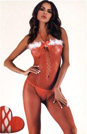 Ολόσωμο καλσόν Santa Claus