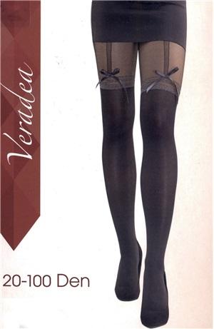 Καλσόν σχέδιο κάλτσα/ζαρτιέρα